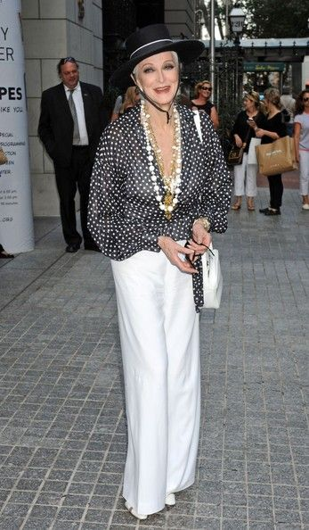 """Carmen Dell'Orefice Photo - Kim Alexis attending the """"About Face: Supermodels Then And Now"""" New York Premiere at the Paley Center for Media in New York"""
