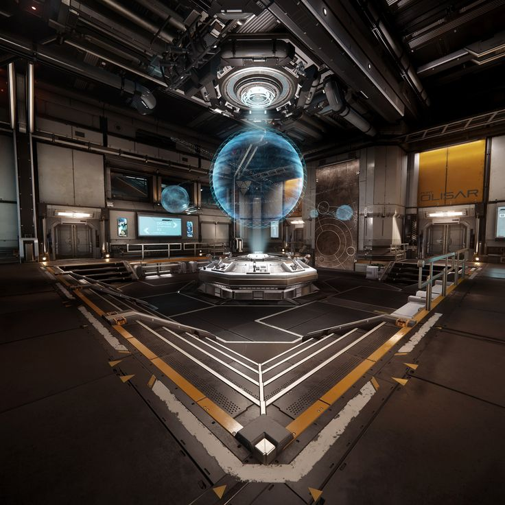 Star Citizen - Port Olisar (Alpha 2.4 lighting update), Ashley McKenzie on ArtStation at https://www.artstation.com/artwork/vmBzO