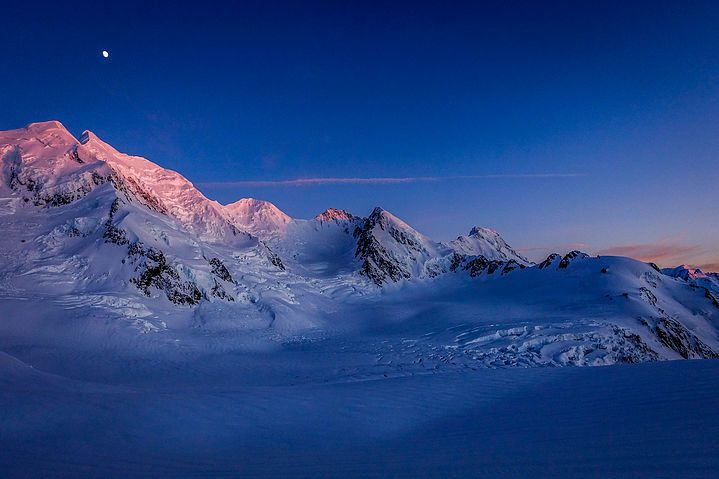 """Lower Linda Glacier, Mt. Cook Range, NZ  """"I Want To See Mountains Again,  Mountains Gandalf!"""""""