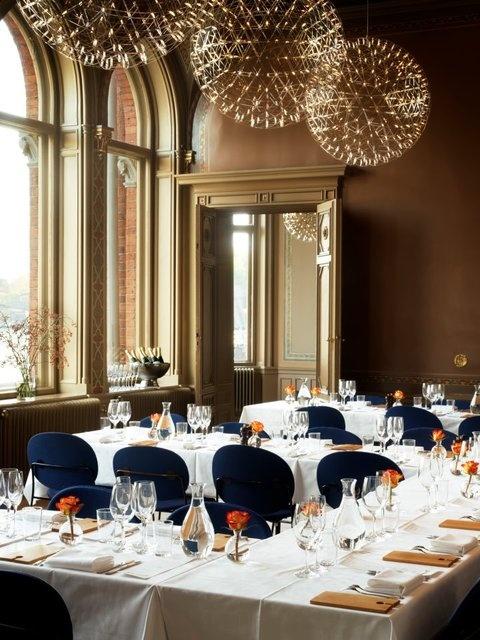 Restaurant at Hotel Skeppsholmen, Stockholm http://www.hotelskeppsholmen.com/