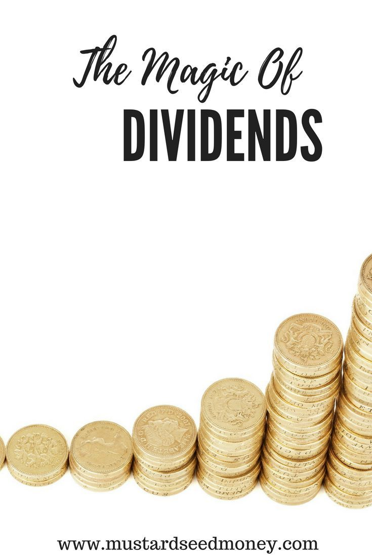 The Magic Of Dividend DRIPs