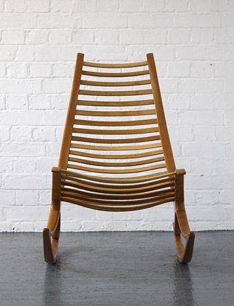 Robin Williams rocking chair | Modern Room - 20th Century Design