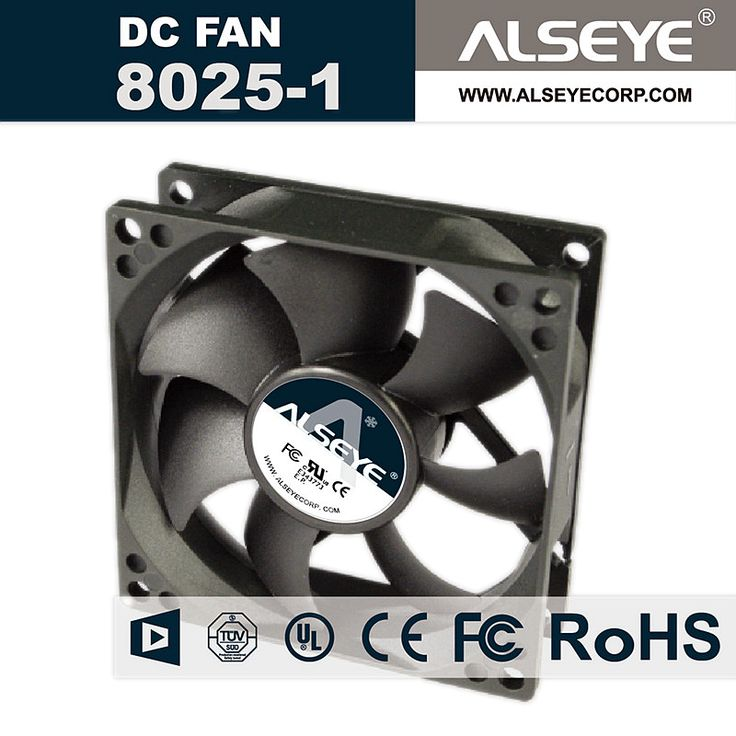 ALSEYE 8025 computer fan 80mm fan for computer 12V 0.26A 3000RPM DC cooling fan cooler for cpu 80 x 80 x 25mm #jewelry, #women, #men, #hats, #watches