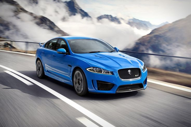 2014 Jaguar XFR-S...    hate the color, love the body styling. Wish they'd have modified the hood ornament and made it more low profile. That Jaguar hood ornament was so iconic.