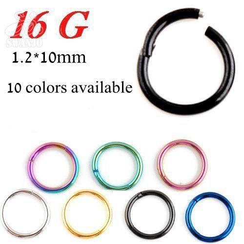 1pc 16g G23 Titanium Septum Hinged Segment Hinged Rings Nariz Nose Pirsing Lip Ear Cartilage Daith Body Piercing Jewelry - http://jewelryfromchina.com/?product=1pc-16g-g23-titanium-septum-hinged-segment-hinged-rings-nariz-nose-pirsing-lip-ear-cartilage-daith-body-piercing-jewelry  Please visit http://jewelryfromchina.com to see all of our products.