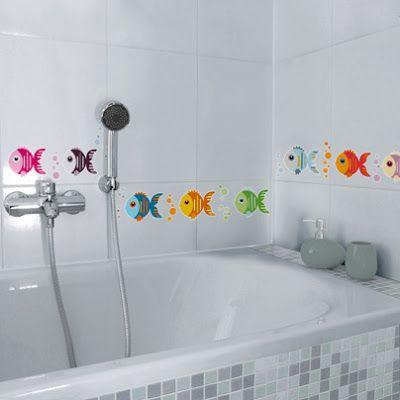 Sorteo de los nuevos vinilos infantiles de Nicolasito para el baño - Deco & Living