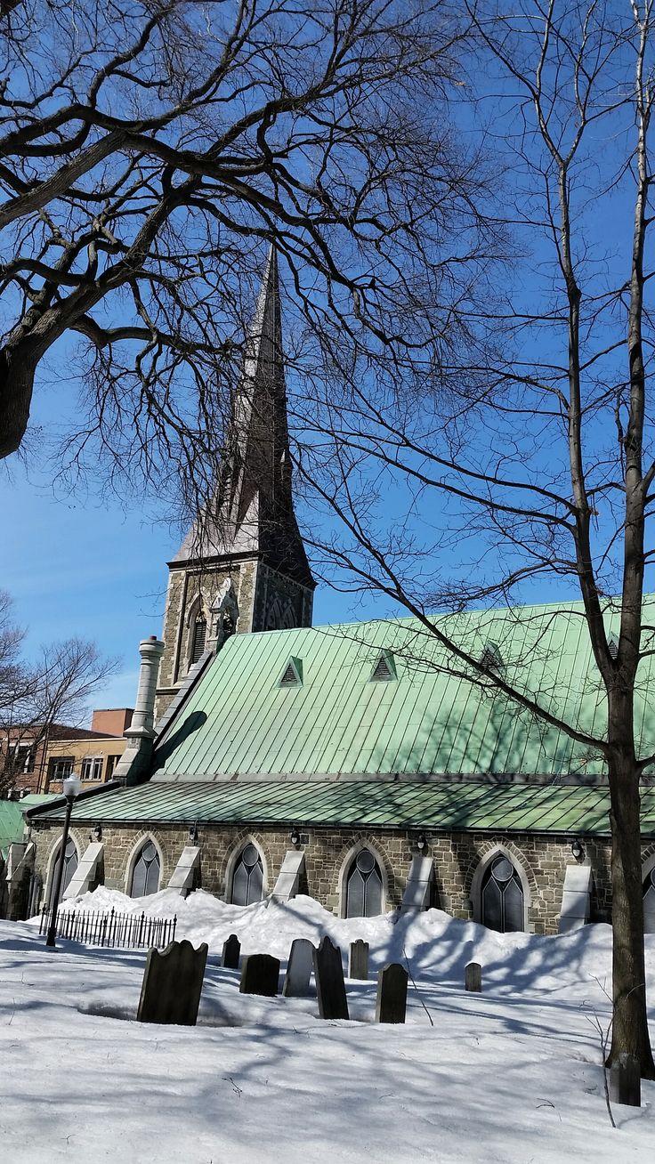 Cimetière St-Matthieu à Québec, (PQ), Canada. Photo : Gilles Carpentier