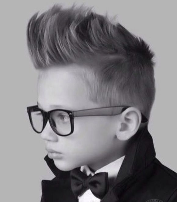 Obsessed with this haircut for boys <3
