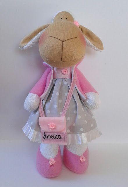 Moje anielskie inspiracje: Owieczka