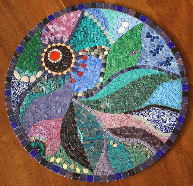 beautiful mosaic art