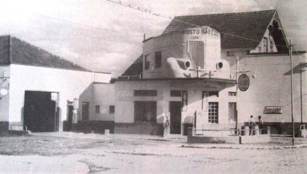 Posto São Luiz em 1940 - Curitiba