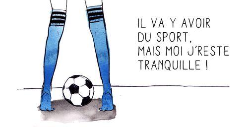 A LIRE : Il va y avoir du sport mais moi je reste tranquille ! (http://www.footista.fr)