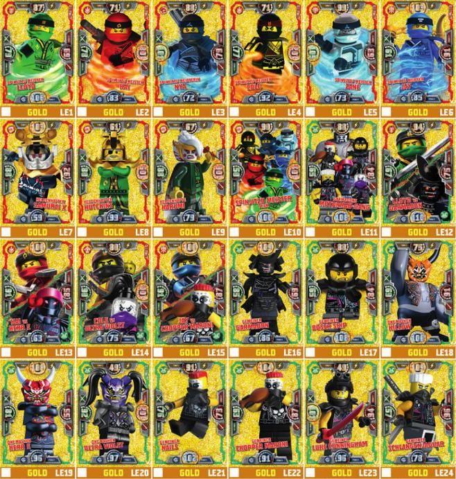 Lego Ninjago Serie 5 Sammelkarten Kaufen Ninjago Trading Cards Legos Lego Ninjago Lego