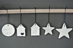 Regards et Maisons: Pour un Noël ...Blanc - Idées et DIY-