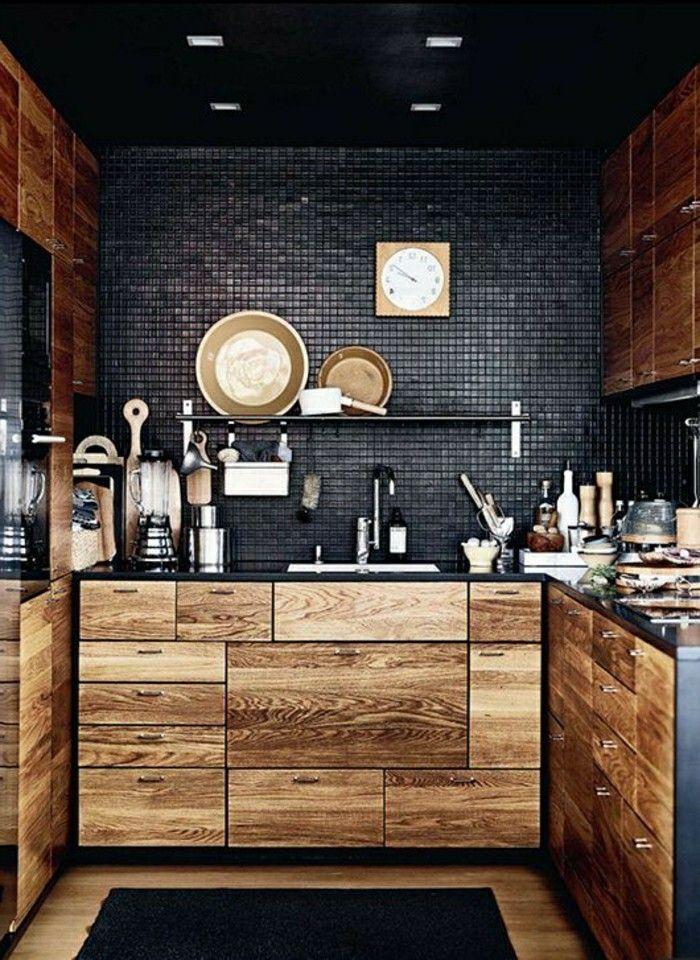 die besten 25+ küche holz ideen auf pinterest | küche beton, weiße ... - Küchenmöbel Aus Holz
