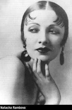 MostWantedLA: The beautiful and talented costume/ set designer NATACHA RAMBOVA, the great friend/ film collaborator of silent screen diva Alla Nazimova-- and the wife of perhaps the most legendary star of the 1920, the short-lived Rudolph Valentino.