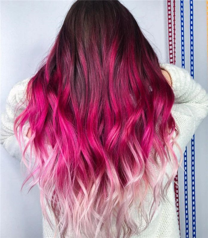50+ Amzing Hair Colors & Ideas for Women 2019