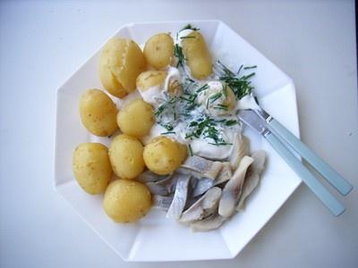 Sill och potatis