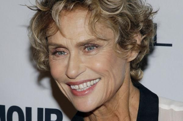 As Lauren Hutton stars in Calvin Klein