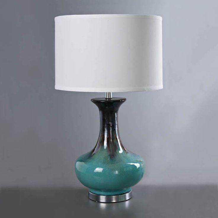 Настольная лампа Средиземноморская глазурь