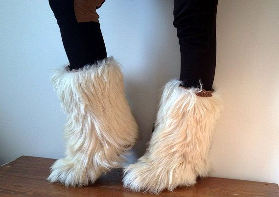 17 Best Images About Fluffy Fuzzy Furry Boots Socks