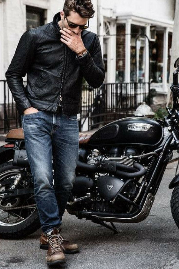 Luxury Lifestyle Harley Davidson Offers The Latest Styles Of Motorcycle Clothing That Will Have Y Fotoshoot Ideeen Triumph Motoren Fotoshoot