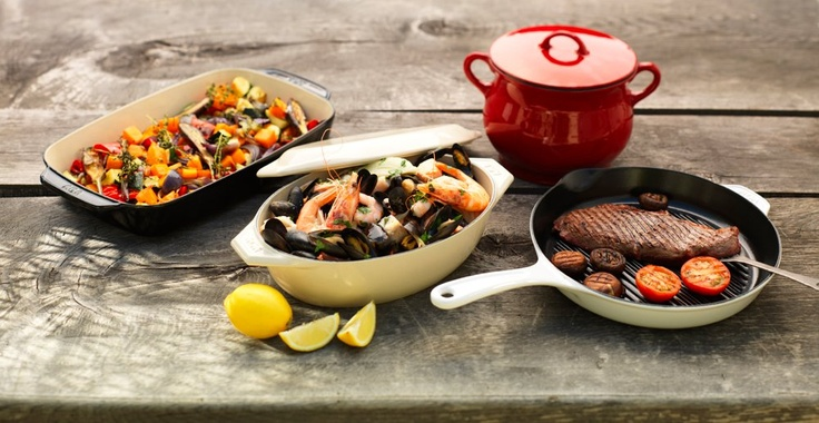 Cast iron cookware from the AGA Cookshop