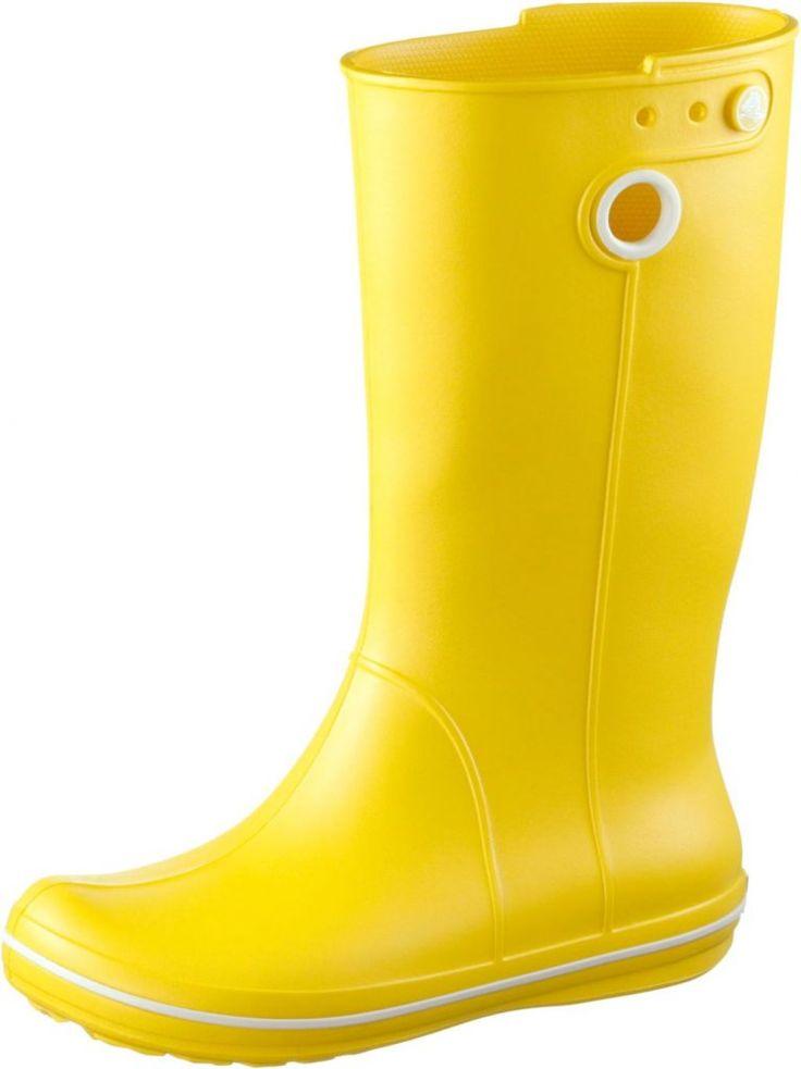 #Crocs #Crocband #Jaunt #Gummistiefel #Damen #gelb