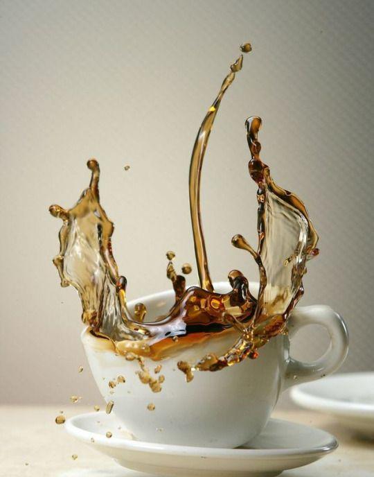 красивые картинки брызги кофе короб отличается привлекательностью