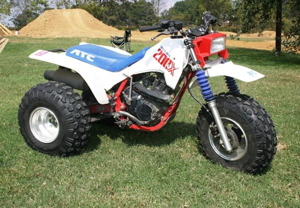 1987 Honda 200X from Joe Byrd's Collection | Project Quads ...