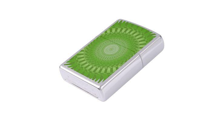 #Sun #Mandala #green #Zippo #Lighter | #Zazzle https://www.zazzle.com/sun_mandala_green_zippo_lighter-256773790258786092