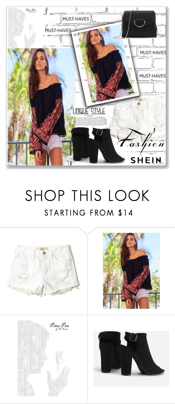 """""""SheIn"""" by nena137 ❤ liked on Polyvore featuring WALL, Hollister Co. and Spineless Classics"""