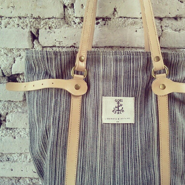 The details stripe canvas #totebag Affairs. - @affairsyk- #webstagram