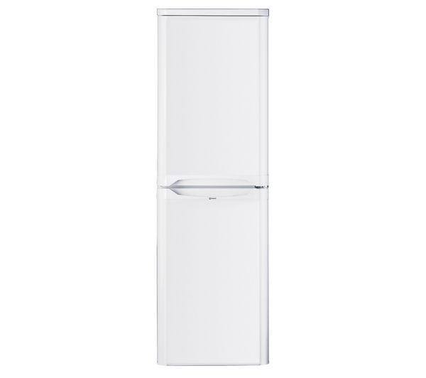CAA55 Fridge Freezer - White