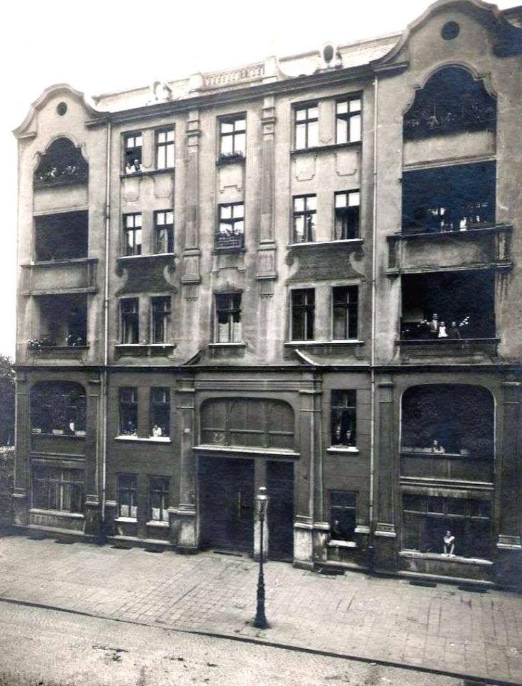 Ulica #traugutta numer 32 w latach 1930-1935, #wilda, #poznan