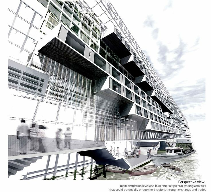 The RIBA President's Medals Student Awards - Spatializing The 6 Metres Wide Borderline by Chu Hwai Lim / National University of Singapore Singapore Singapore