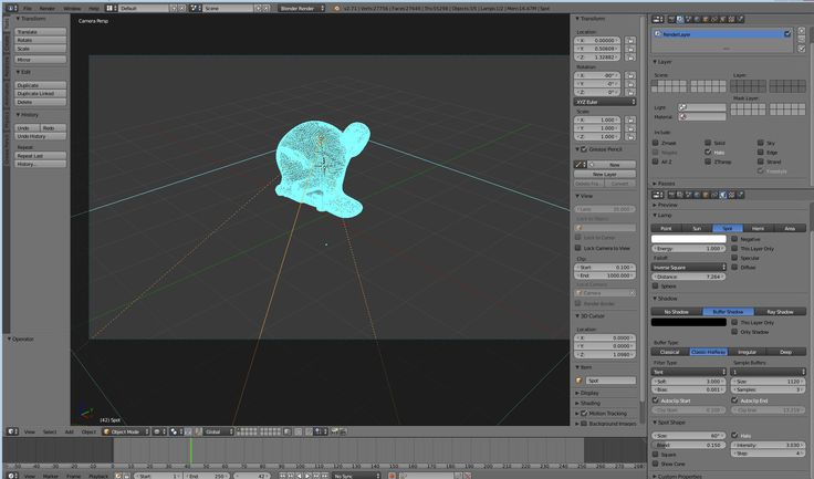 How to deal with volumetric light effect?   Since Cycles volumetric shader is really time consuming and not GPU compatible - is there any way to speed things up? http://raypump.com/help/5-faq?showall&start=7