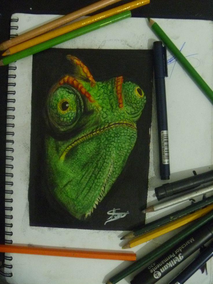 dibujo lápiz de color