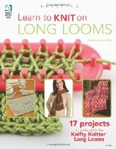 I found this book to be very helpful on developing new stitch techniques with the long looms.