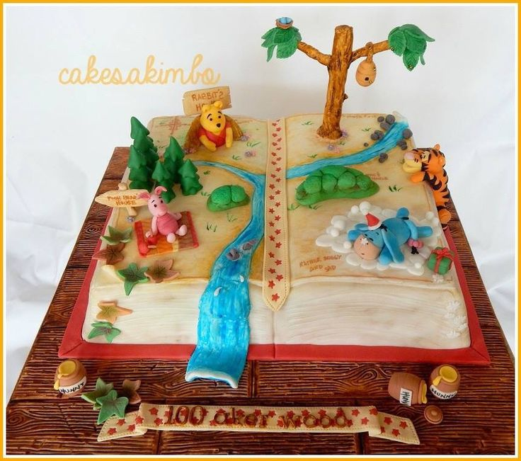 587 best Elegant Winnie the Pooh images on Pinterest Friends cake