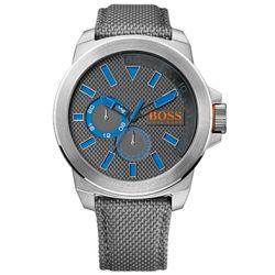 Relógio Hugo Boss Couro Cinza Masculino - 1513013