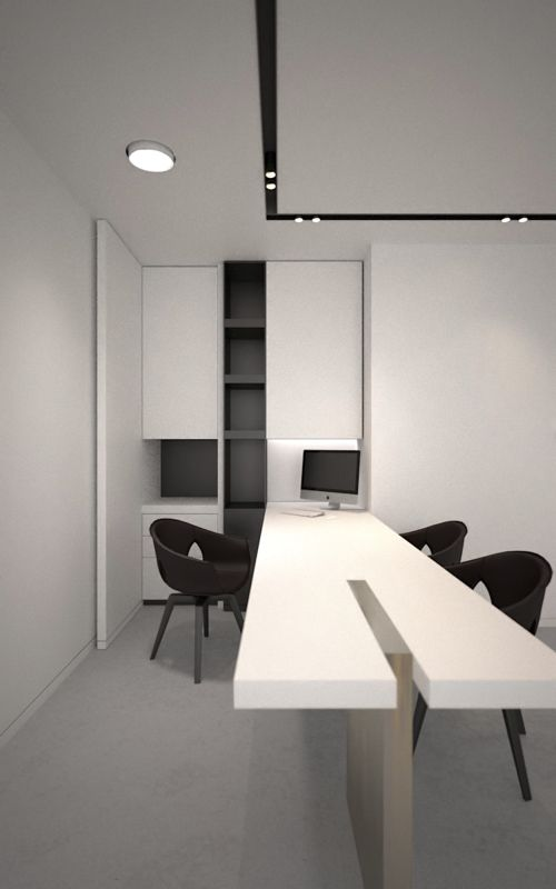 Office in Bellegem Belgium - render - Interior by AD Office