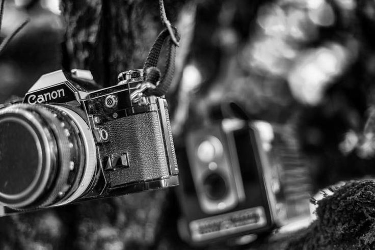 Vintage Camera Photo, Retro Film 35mm Camera Print, Classic Canon Black and White Art, Photographer Gift, BW Office Wall Decor Picture by GCFPhotography on Etsy https://www.etsy.com/uk/listing/462862397/vintage-camera-photo-retro-film-35mm