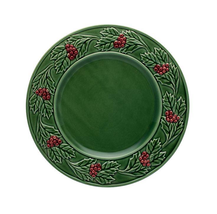 HOLLY dinner plate