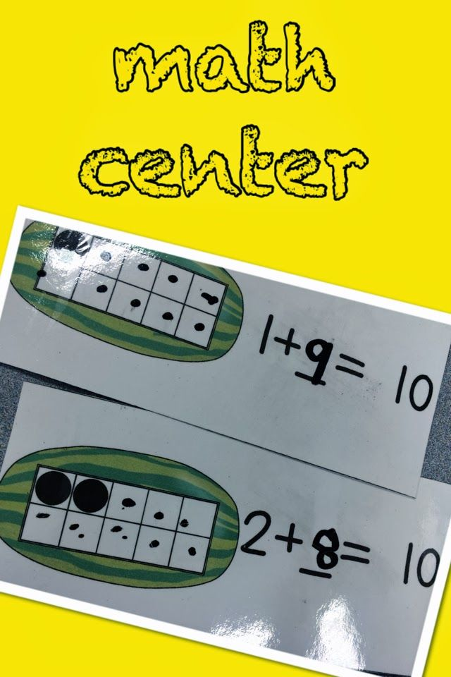 Making sets of ten with ten frames