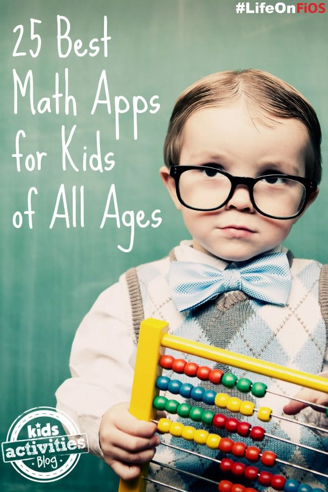 Incorporate learning with screen time by downloading some of our picks for best math apps for kids.