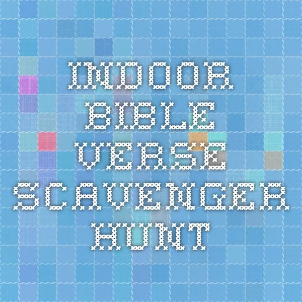 indoor bible verse scavenger hunt we did this last year and the kids had a blast lock in. Black Bedroom Furniture Sets. Home Design Ideas
