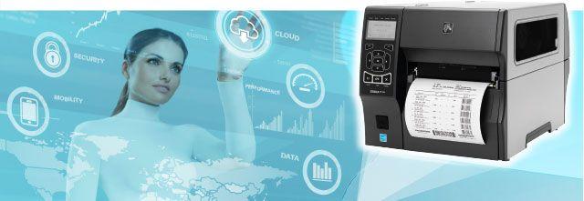 Zebra ZT400 - der innovative Link-OS Etikettendrucker aus dem Mittelklassebereich
