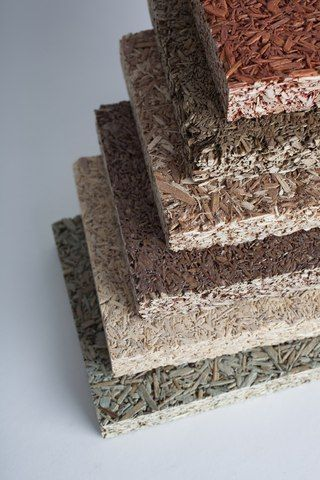Recycled fiber acoustical panels for ceiling and wall surfaces
