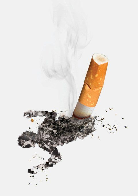 20 Creative Anti-Smoking Advertisements